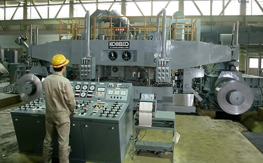 A 20-high cold rolling mill for stainless sheet steel