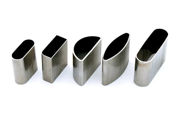 Modified stainless steel tubes